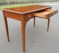 Yew Writing Table - SOLD